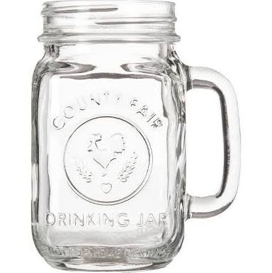 Mason Jar Cocktail Mugs - Set of 4