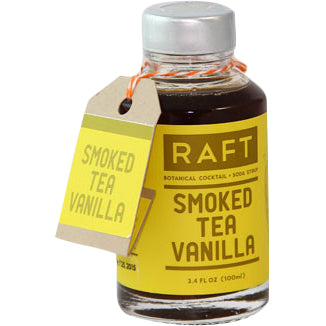 Raft Cocktail Syrups - Smoked Tea Vanilla