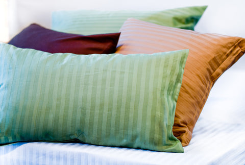 Organic Cotton Sateen Pillow Covers