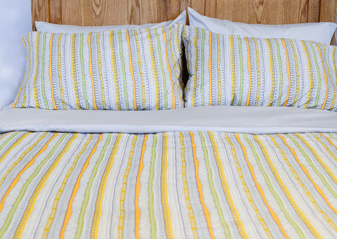 Organic Cotton Duvet Cover Set - Tribal