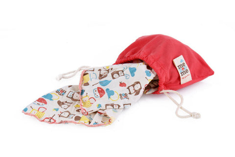 Organic Pocket Blanket / Burp Cloth