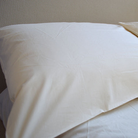 Percale Organic Pillow Case Pair