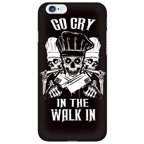 Go Cry Phone In The Walk In Skull iPhone 6 Phone Case