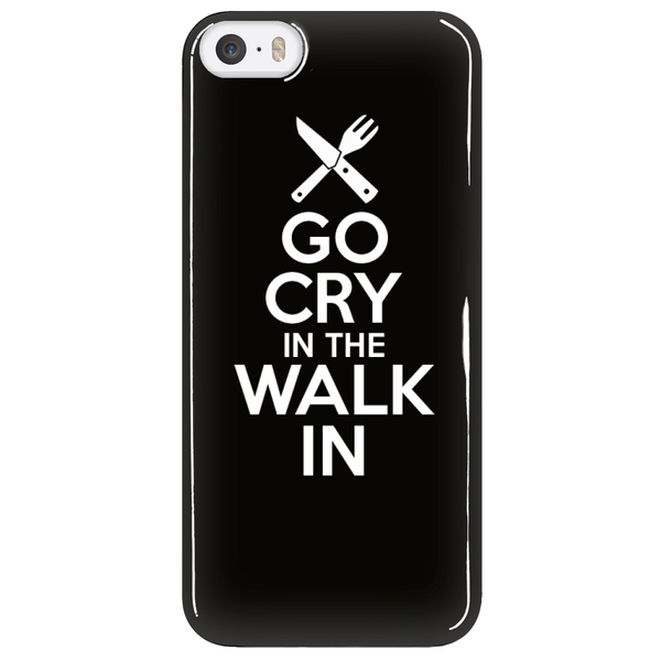 Go Cry In The Walk In iPhone 5 Phone Case
