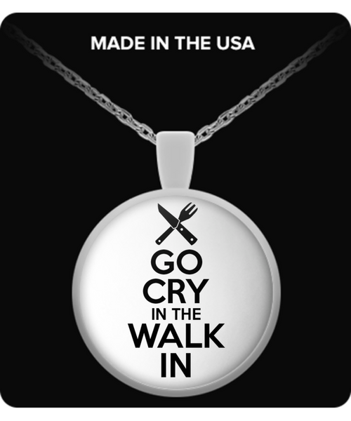 Go Cry In The Walk In Necklace