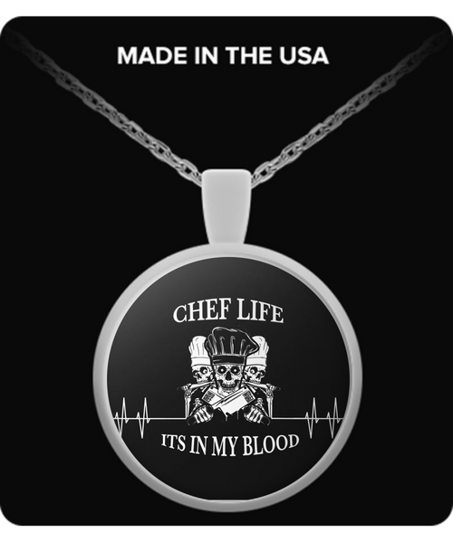 Its In My Blood Necklace
