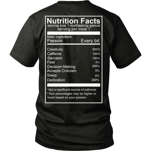 Chef Nutrition Tee