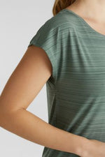 Load image into Gallery viewer, Active Short Sleeve Top in Pink or Khaki