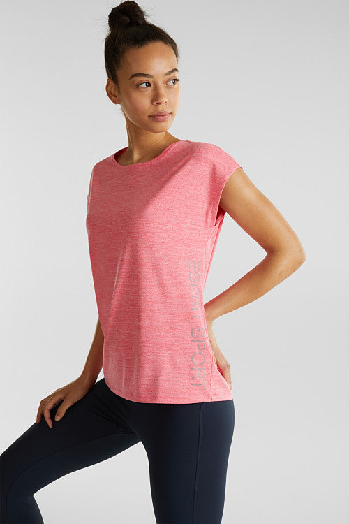 Active - Melange Short Sleeve Top