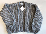 Load image into Gallery viewer, Maison Anje Loslo Chunky hand knit cardigan