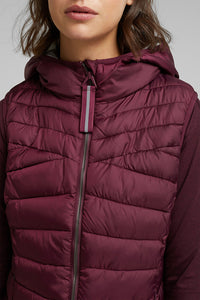 Active Body Warmer with Hood