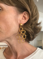 Load image into Gallery viewer, Retro Large Circle Earrings