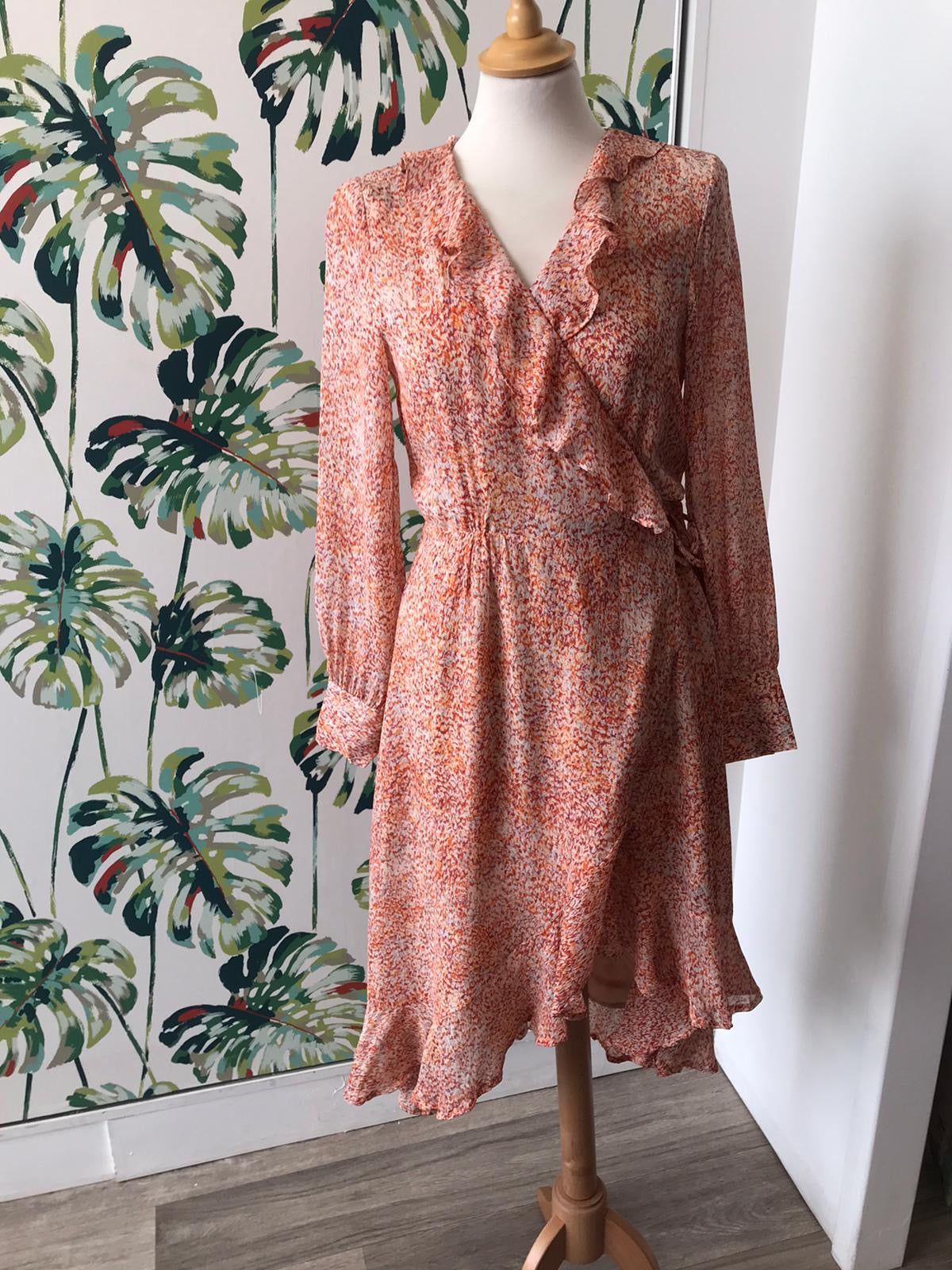 Second Female - Floral Wrap Dress - HALF PRICE