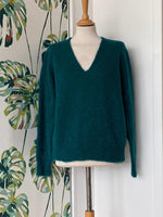 Load image into Gallery viewer, Maison Anje Lecourbe v-neck sweater REDUCED