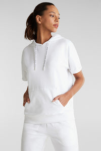 Esprit - Short sleeved hooded Sweatshirt HALF PRICE