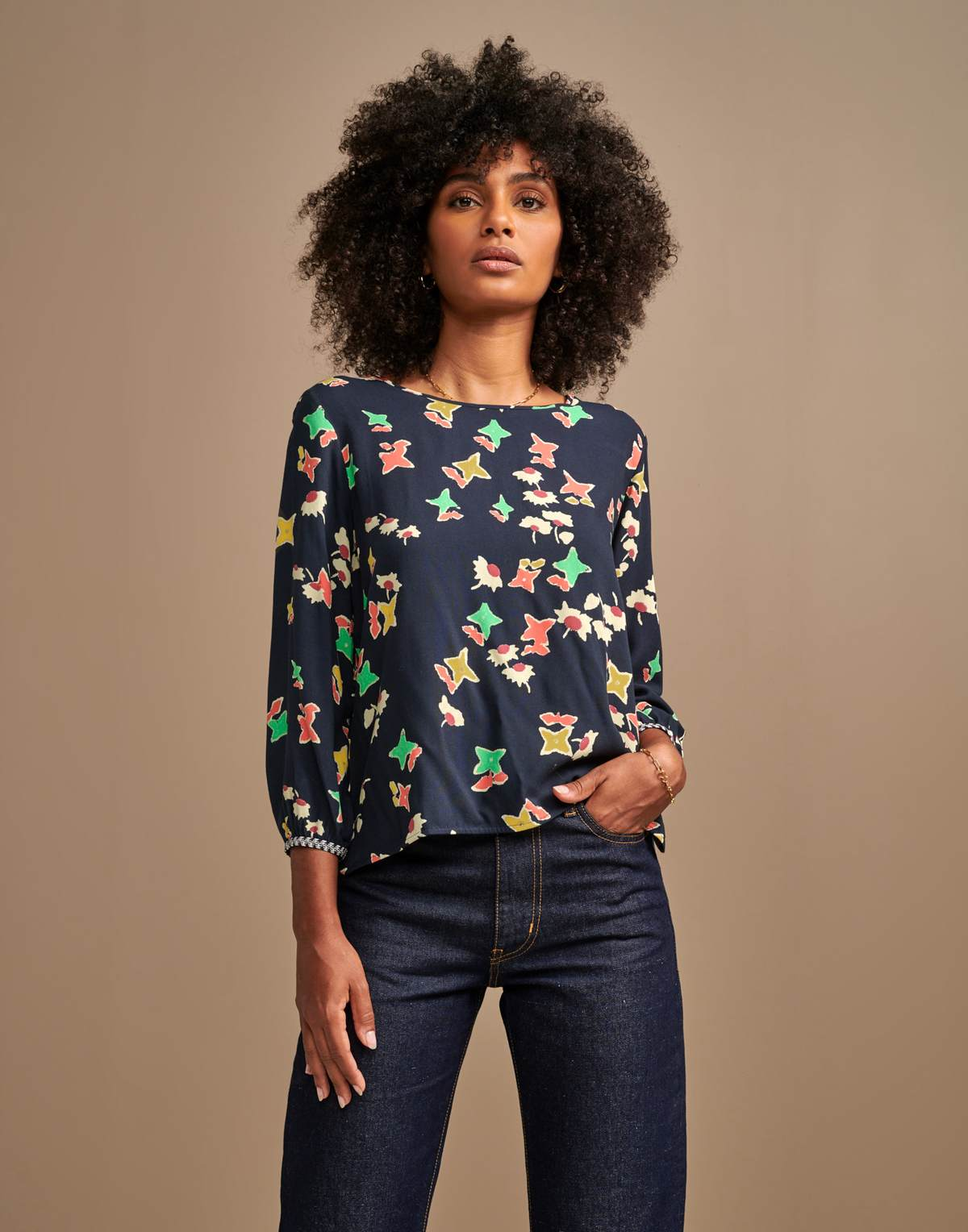 Bellerose Solong Printed Top