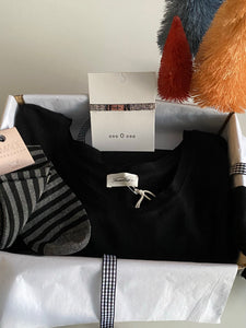 Black, Casual and Sparkly Gift Box