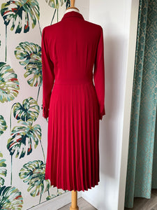 Esprit Midi Dress with Pleating