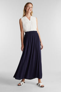 Esprit Navy Maxi Skirt