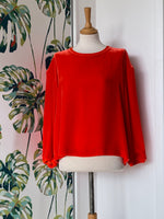 Load image into Gallery viewer, Bellerose Long sleeved Ashi Velvet Top REDUCED