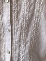 Load image into Gallery viewer, INDI & COLD - Embroidered White Blouse