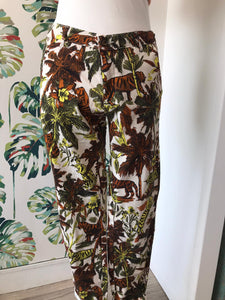 REDUCED HOD - Summer Trousers in Striking Print