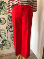 Load image into Gallery viewer, BELLEROSE - Smart Red Cigarette Trousers