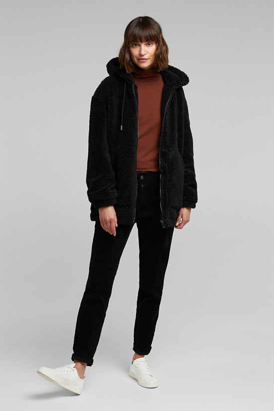 Esprit - Black Teddy Jacket