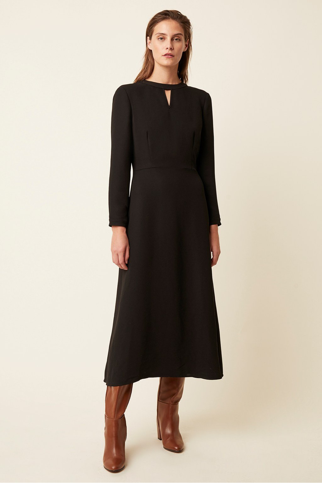 Great Plain Tailored Black Dress - HALF PRICE