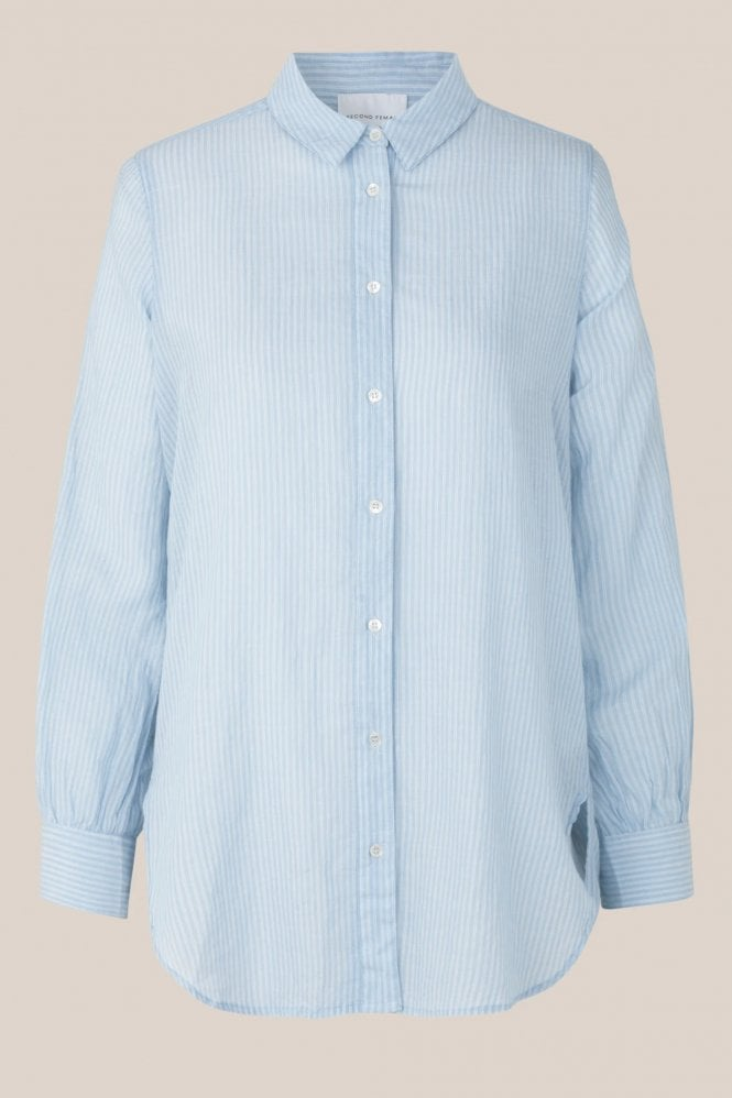 Second Female Long Striped Shirt HALF PRICE