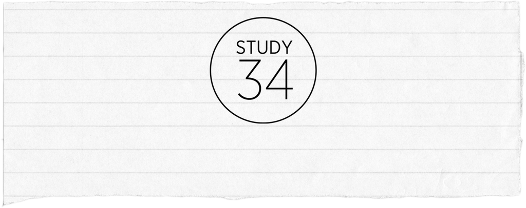 Welcome to the new <br> STUDY 34