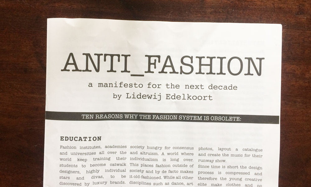 Fashion: How Will It Reflect On Us?