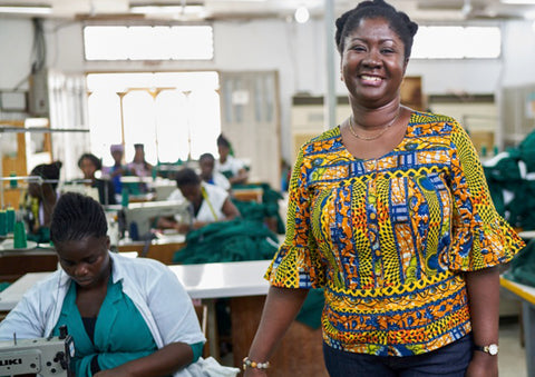 women's textile factory ethical sustainable clothing production