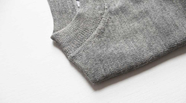 alpaca crew neck women knitwear ethical sustinable