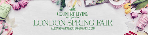Country Living Spring Fair Alexandra Palace STUDY 34 knitwear