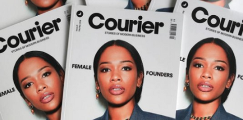 courier magazine female founders study 34