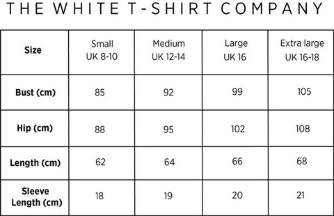 relaxed short sleeve women's t-shirt organic cotton