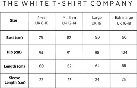womens fitted short sleeve t-shirt organic cotton