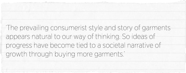 consumerist fashion growth kate black ethical sustainable fashion