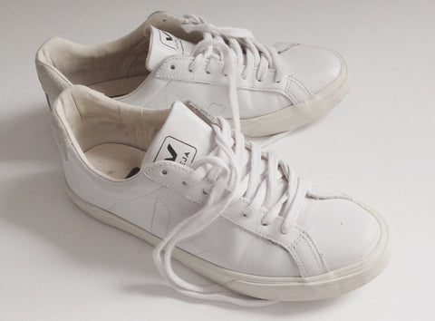 women shoes veja white trainers ethical sustainable