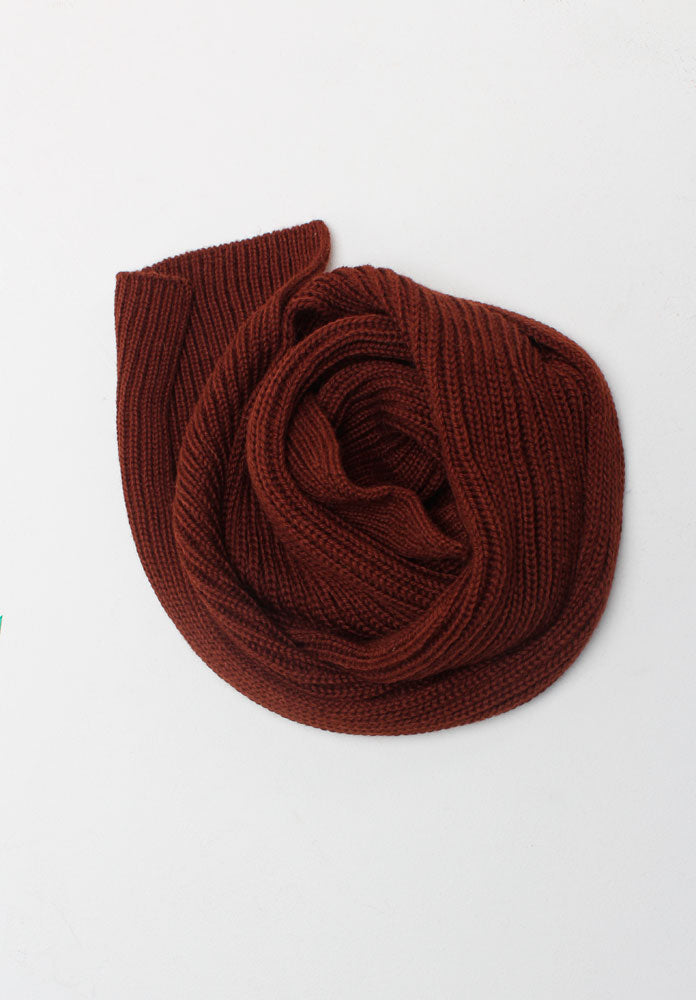 The Alpaca Scarf Mahogany