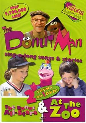Donut Man - Donut All Stars & At The Zoo - DVD