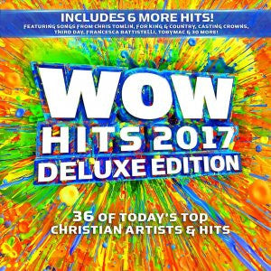 WOW Hits 2017 Deluxe Edition 2CD Various Artists