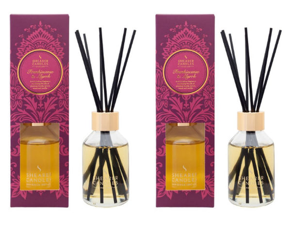 Frankincense and Myrrh Scented Room Diffuser 2 Pack