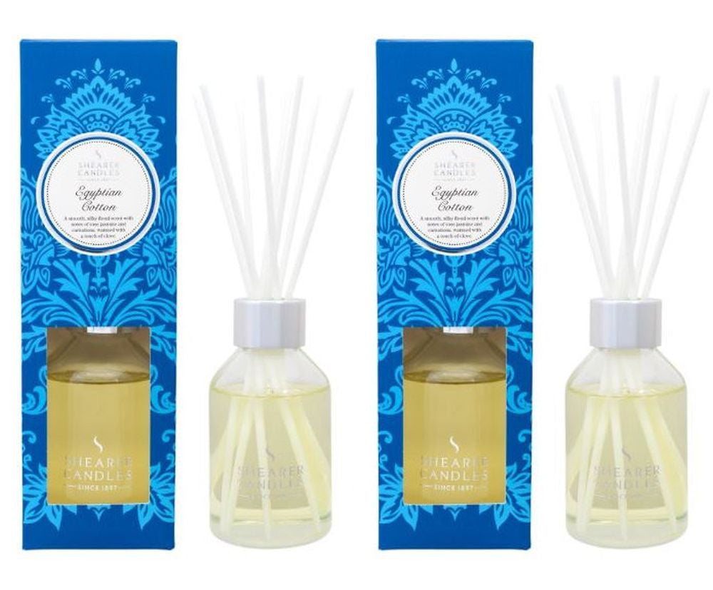 Egyptian Cotton Scented Room Diffuser 2 Pack