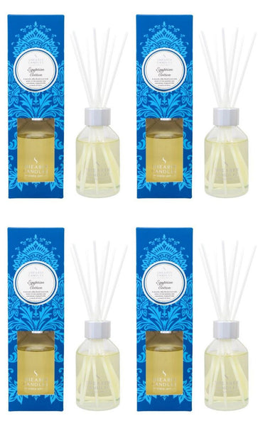 Egyptian Cotton Scented Room Diffuser 4 Pack