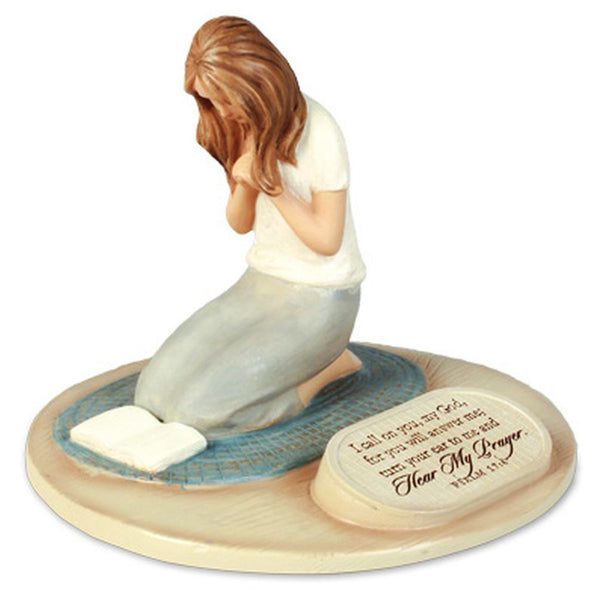 Devoted Sculpture Series - Praying Woman