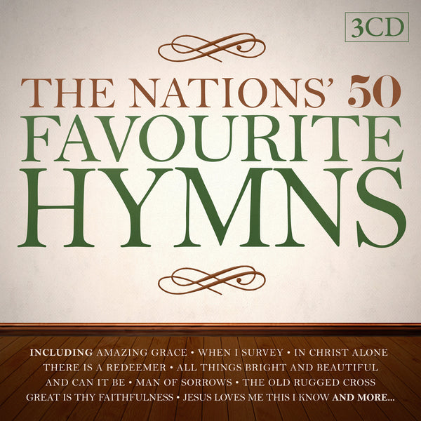 The Nations' Favourite Hymns 3CDs