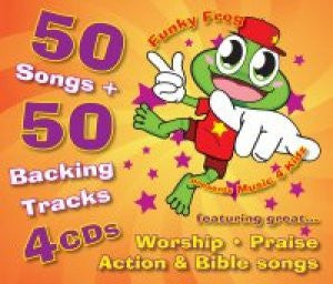 50 Songs and 50 Backing Tracks For Children - 4CD - Various Artists