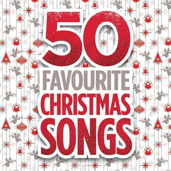 50 Favourite Christmas Songs - 3CD - Various Artists